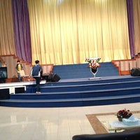 Photo taken at GBI Tabgha by Caroline C. on 6/1/2013