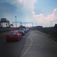 Photo taken at Морской вокзал by Kirill K. on 7/18/2014
