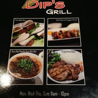Photo taken at Dip's Grill by Amy C. on 8/23/2013