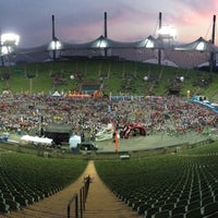 Photo taken at Olympic Stadium by Robert F. on 7/18/2013