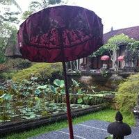Photo taken at The Chedi Club at Tanah Gajah Bali by Alex D. on 11/18/2012