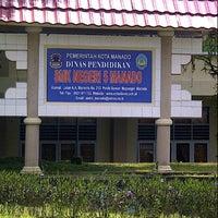Photo taken at SMK Negeri 5 Manado by Henny P. on 4/25/2013