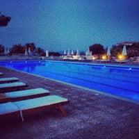 Photo taken at Kassandra Palace Pool by Yana A. on 7/7/2013