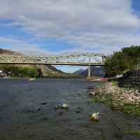 Photo taken at Ballachulish Bridge by Lin J. on 5/14/2018