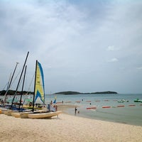 Photo taken at Chaweng Beach by Bearever C. on 7/6/2013