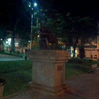Photo taken at Praça Da Matriz by Michel K. on 5/15/2013