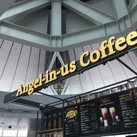 6/22/2018에 naitoo님이 Angel-in-us Caffee,  at Gate 47 Incheon Intl. Seoul에서 찍은 사진