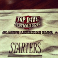 Photo taken at Top Dawg Tavern by Jacki N. on 6/2/2013