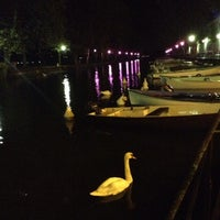 Photo taken at Canal du Thiou by Tugba K. on 10/23/2013