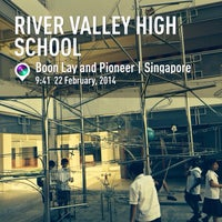 Photo taken at River Valley High School by Aaron W. on 2/22/2014