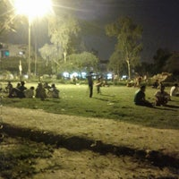 Photo taken at chhatarpur park by Fazal B. on 6/24/2013