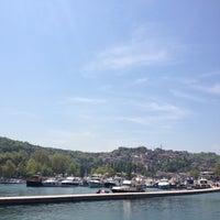 Photo taken at İstinye Marina by Sevda on 4/28/2013