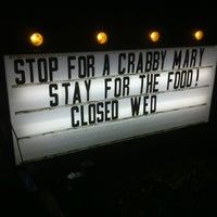 Photo taken at Crabby's by Mark K. on 11/4/2012