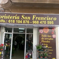 Photo taken at floristeria San Francisco by Andres P. on 5/18/2013