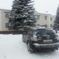 Photo taken at Быховская детская школа искусств by Alexandr T. on 1/18/2014