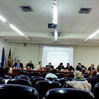 Photo taken at Faculdade de Ciências Sociais e Humanas da Universidade Nova de Lisboa by Pedro S. on 5/3/2013