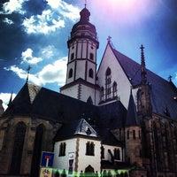 Foto tirada no(a) Thomaskirche por Christian K. em 7/1/2013