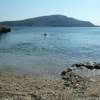 Photo taken at KAPE Sounio Nudist Beach by J V. on 7/17/2013