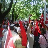 Photo taken at Necatibey Caddesi by Yıldırımm Ş. on 5/19/2013