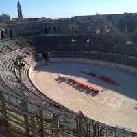 Photo prise au Arènes de Nîmes par Tour C. le10/16/2012