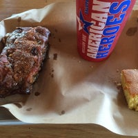 Photo taken at Mission BBQ by James B. on 1/5/2016