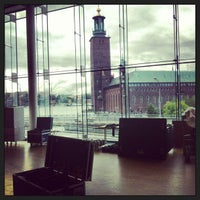 Photo taken at Stockholm Waterfront Congress Centre by Dirk V. on 9/2/2013