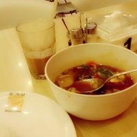 Photo taken at Qua-Li Noodle & Rice by Anita W. on 1/4/2014