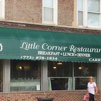 Photo taken at Little Corner Restaurant by Josh C. on 8/7/2016