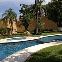 Photo taken at Villas Garza Azul by Pablo D. on 8/10/2013