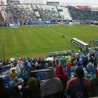 Photo taken at Estadio Defensores Del Chaco by Gabriel B. on 3/23/2014