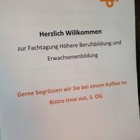 Photo taken at ZbW Zentrum für Berufliche Weiterbildung by Max W. on 4/24/2014