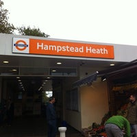 Photo taken at Hampstead Heath London Overground Station by Simon T. on 10/26/2014