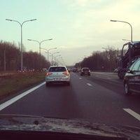 Photo taken at R0 Haut-Ittre > Groot-Bijgaarden by Jari S. on 2/26/2014