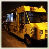 Photo taken at JJ's Hot Dog Truck by Domenick Raymond on 12/9/2014