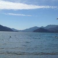 Photo taken at Santana Beach by Eli K. on 9/25/2014
