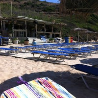 Photo taken at Golden Beach by Panos G. on 7/11/2013