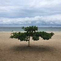 Photo taken at Tung Wua Laen Beach by Evgeniy K. on 5/29/2018