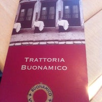 Photo taken at Trattoria Buonamico by Наташа Ч. on 6/24/2013