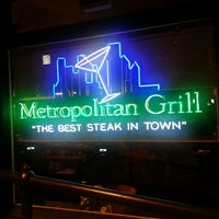 Photo taken at Metropolitan Grill by Ward S. on 4/27/2013