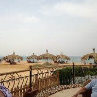 Photo taken at Palmera Beach Resort Ain Sukhna by Bassem A. on 5/3/2013