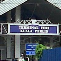 Photo taken at Jeti Kuala Perlis by Nur M. on 9/15/2013
