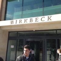 Photo taken at Birkbeck, University of London by Nader H. on 4/24/2013