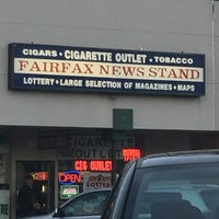 Photo taken at Fairfax News Stand by Chris A. on 3/30/2016