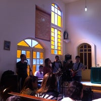Photo taken at Igreja Católica São Dimas e Santo Expedito by Paulo Santos L. on 9/7/2014