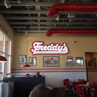 Photo taken at Freddy's Frozen Custard and Steakburgers by Tammie K. on 1/11/2014