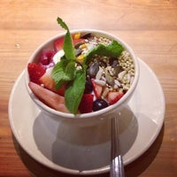 Photo taken at Le Pain Quotidien by Rach .. on 5/9/2013