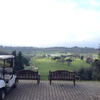 Photo taken at Golf Club Castel Gandolfo by Filippo S. on 1/4/2014