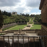 Photo taken at Pitti Palace by Cesc Y. on 5/11/2013