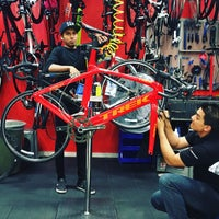 Photo taken at Transvision Bike Roma by Jesús T. on 9/10/2016