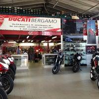 Photo taken at Ducati Bergamo by Luca Ghiaccio M. on 6/8/2013